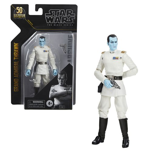Star Wars Black Series Archive Grand Admiral Thrawn Figure