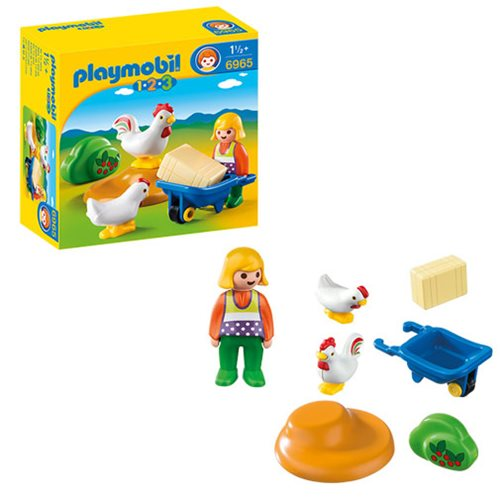 Playmobil 6965 Farmer's Wife with Hens