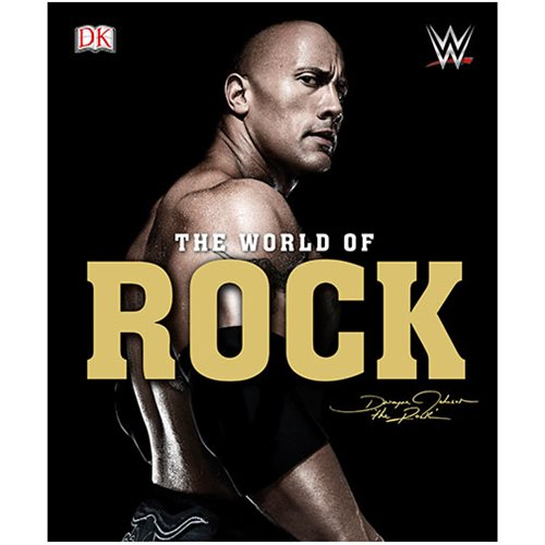 WWE: The World of the Rock Hardcover Book
