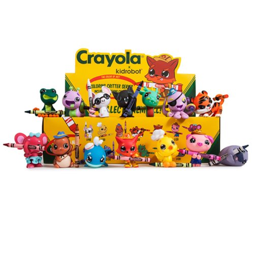Crayola Coloring Critters Mini-Figures Display Tray