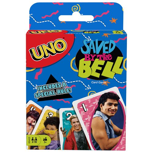 Saved By The Bell UNO Game