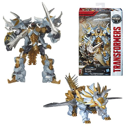 Transformers The Last Knight Premier Deluxe Dinobot Slug, Not Mint