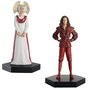 Doctor Who Collection Time Lord Set #4 The Inquisitor and the Rani Figures