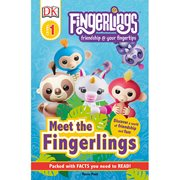 Fingerlings: Meet the Fingerlings DK Readers Level 1 Hardcover Book