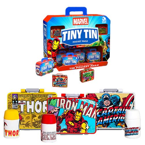 Marvel Tiny Tins Series 1 Case