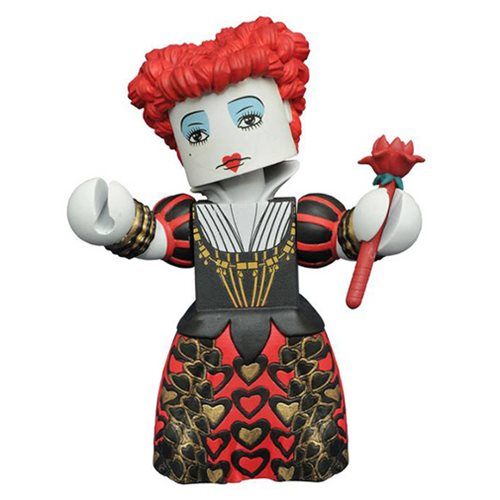 Alice Through the Looking Glass Red Queen Figure, Not Mint