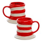 Cat in the Hat 16 oz. Sculpted Ceramic Mug
