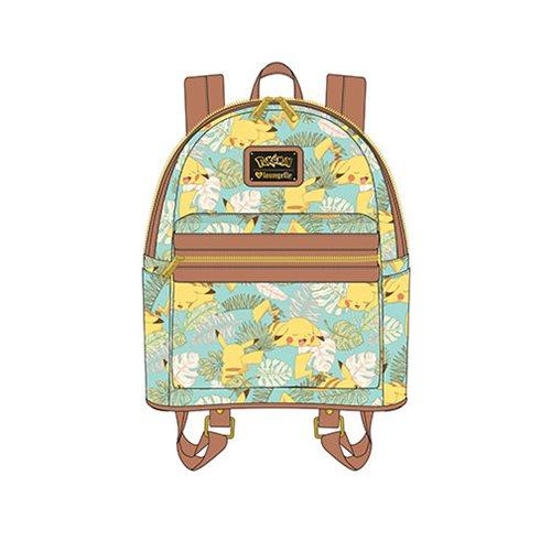 53ff53c4db46 Pokemon Pikachu Leaves Mint Mini Backpack - Entertainment Earth