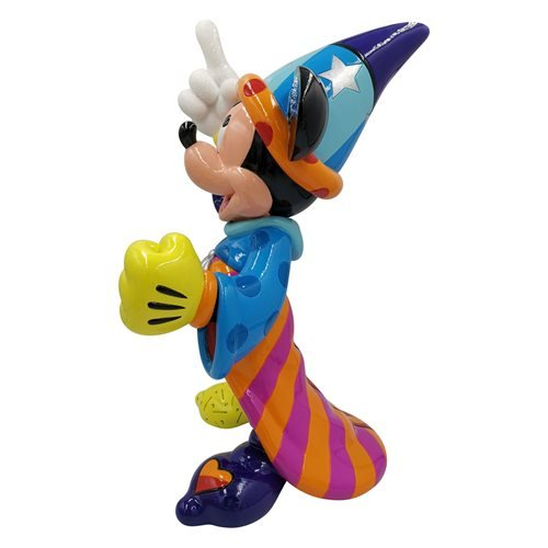 Disney Fantasia Sorcerer Mickey Mouse Big Fig Statue by Romero Britto