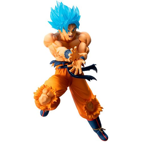 Dragon Ball Super Saiyan God SS Son Goku Ichiban Statue