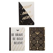 Wonder Woman Soft Cover Journal 3-Pack