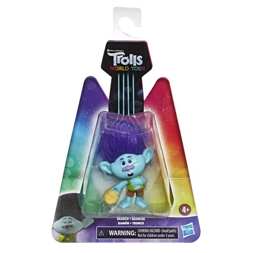 Trolls World Tour Small Dolls Collectible Figure Wave 1 Case