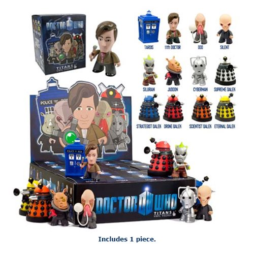 Doctor Who Titans 11th Doctor Series 1 Random Vinyl Figure