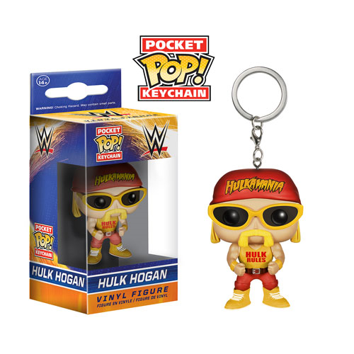 WWE Hulk Hogan Pop! Vinyl Figure Key Chain