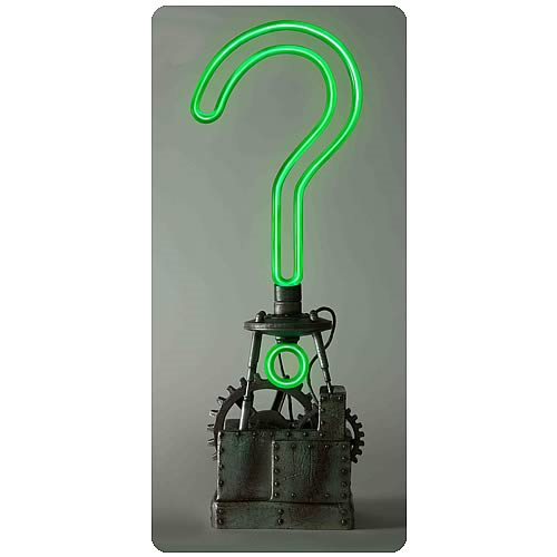 Batman Arkham City Riddler Trophy Full-Scale Prop Replica
