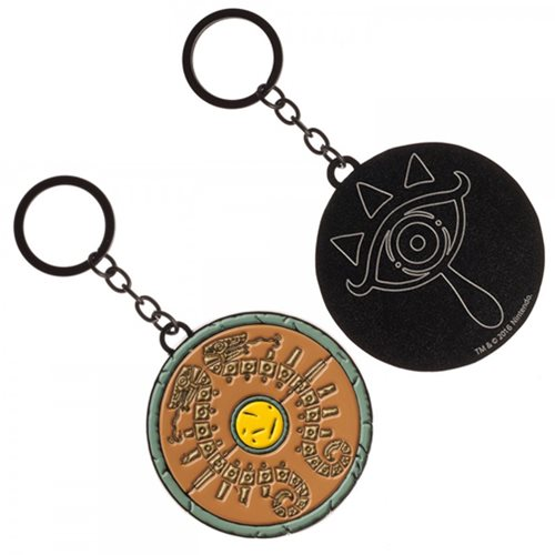 Legend of Zelda Breath of the Wild Shield Keychain