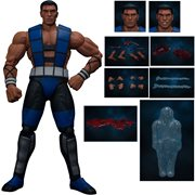 Mortal Kombat 3 Sub-Zero Unmasked 1:12 Scale Action Figure