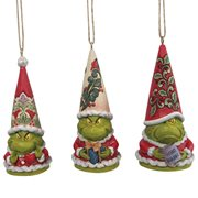 Dr. Seuss The Grinch Grinch Gnome by Jim Shore Holiday Ornament 3-Pack