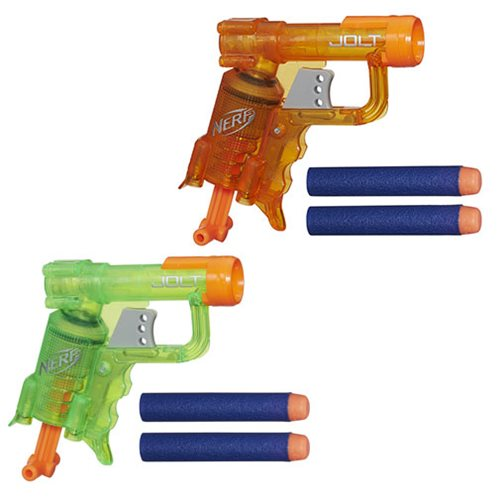 Nerf N-Strike Jolt Blaster Wave 2 Set - Green and Orange