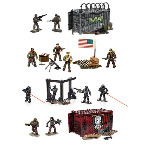 Mega Bloks Call of Duty Armory Shipment Playset Case