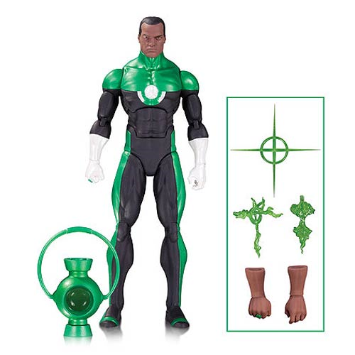 DC Comics Icons Green Lantern John Stewart Action Figure