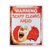 Scary Clown Sign