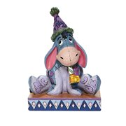 Disney Traditions Eeyore with Birthday Hat Horn Birthday Blues by Jim Shore Statue