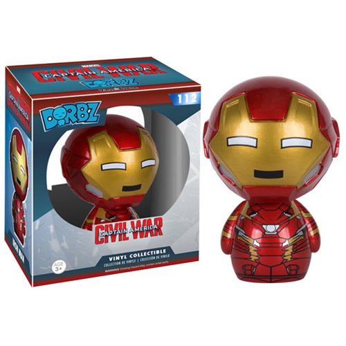 Captain America: Civil War Iron Man Dorbz Vinyl Figure