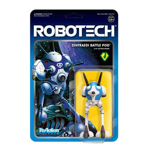 Robotech Zentraedi Battle Pod 3 3/4-Inch ReAction Figure