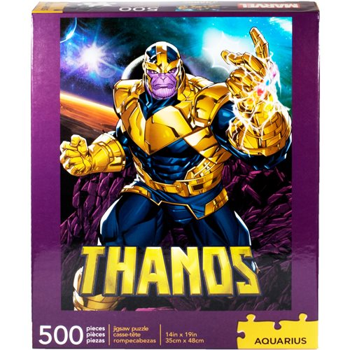 Marvel Thanos 500-Piece Puzzle