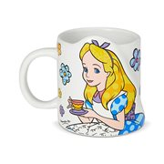Disney Alice in Wonderland Alice Mug by Romero Britto