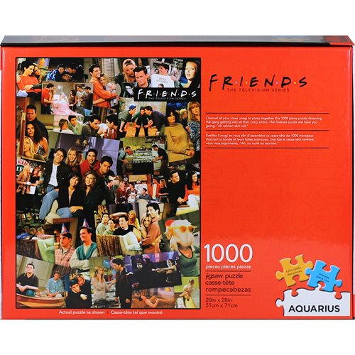 Friends Collage 1,000-Piece Puzzle