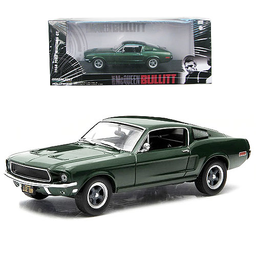 Bullitt 1968 Ford Mustang Fastback 1:43 Scale Die-Cast Metal Vehicle