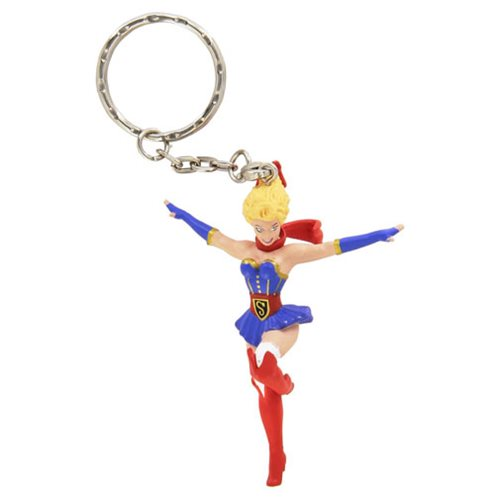 DC Comics Bombshells Supergirl Figure Key Chain
