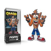 Crash Bandicoot Crash FiGPiN Enamel Pin