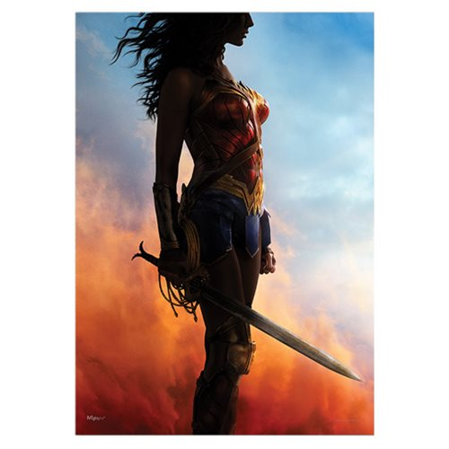 Wonder Woman Power Grace Wisdom Wonder MightyPrint Wall Art Print