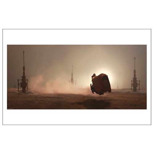 Star Wars: The Force Awakens The Scavenger's Ride by Stephen Hayford Paper Giclee Art Print
