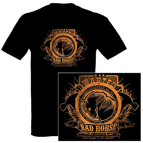Dr. Horrible's Sing-Along Blog Wanted Bad Horse Jr. T-Shirt