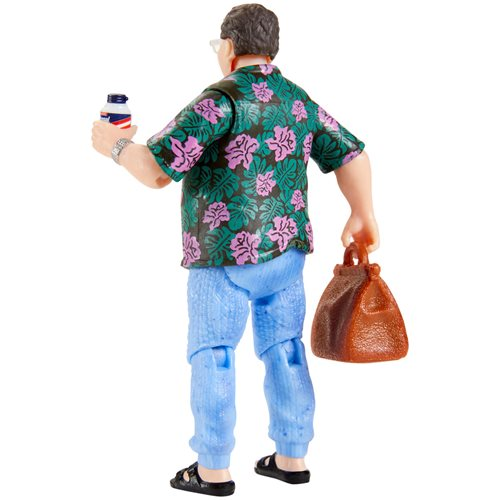 Jurassic Park Barbasol Dennis Nedry Action Figure - 2020 Convention Exclusive