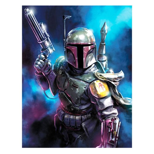 Star Wars From the Shadows by Santi Casas Canvas Giclee Art Print