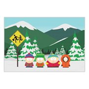 South Park Group Fleece Blanket