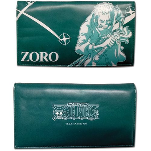 One Piece Zoro Wallet
