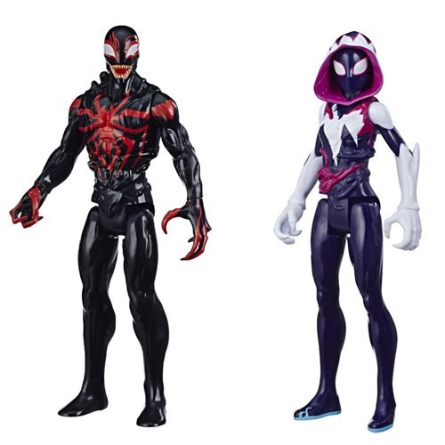 Spider-Man Maximum Venom Titan Hero Action Figures Wave 1