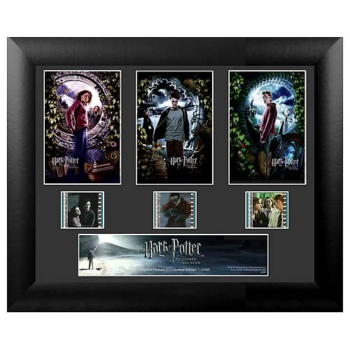 Harry Potter Prisoner of Azkaban Standard Triple Film Cell