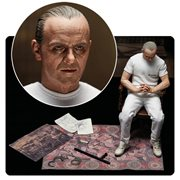 Silence of the Lambs Hannibal Lecter White Prison Uniform 1:6 Scale Action Figure