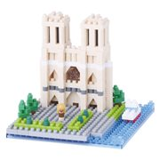 Cathedral Notre-Dame Nanoblock Constructible Figure