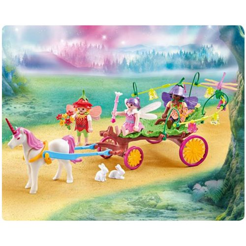 Playmobil 9823 Children Fairies with Unicorn Carriage