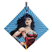 DC Comics Justice League Wonder Woman Animated StarFire Prints Hanging Glass Ornament