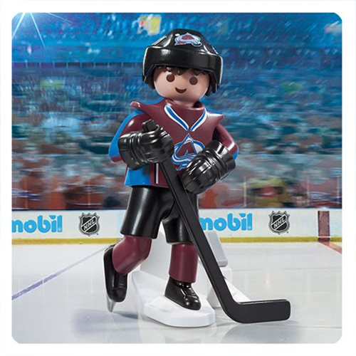 Playmobil 9190 NHL Colorado Avalanche Player Action Figure