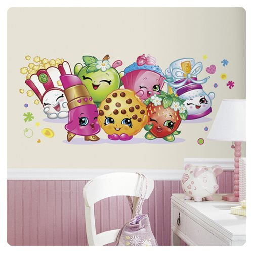 Shopkins Pals Peel and Stick Giant Wall Graphic